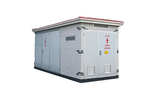 组合(箱式)变电站系三相交流50HZ,6-35KV的户内外组合式变配电成